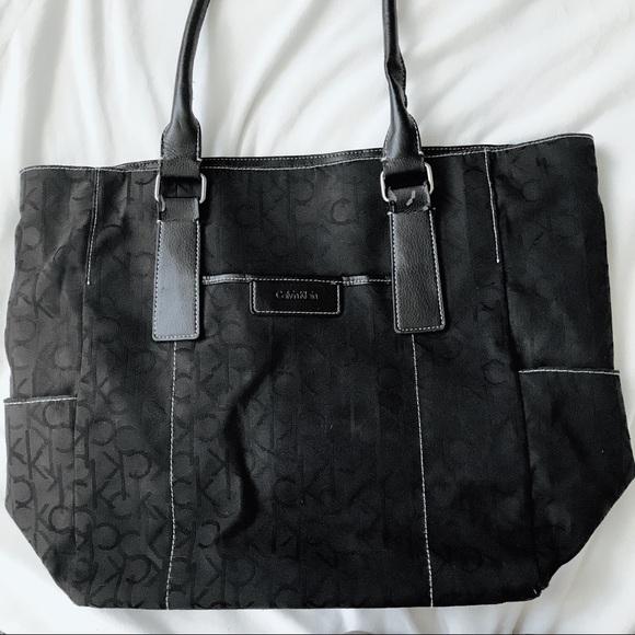 Calvin Klein Handbags - Black Calvin Klein Tote Bag